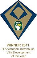 Winner � 2011 HIA Victorian Townhouse / Villa Development Award