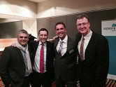 The Hon Matthew Guy MP with CEO Michael Kokkinos, Director of Planning Domenic Valastro and Director Simon Vinson